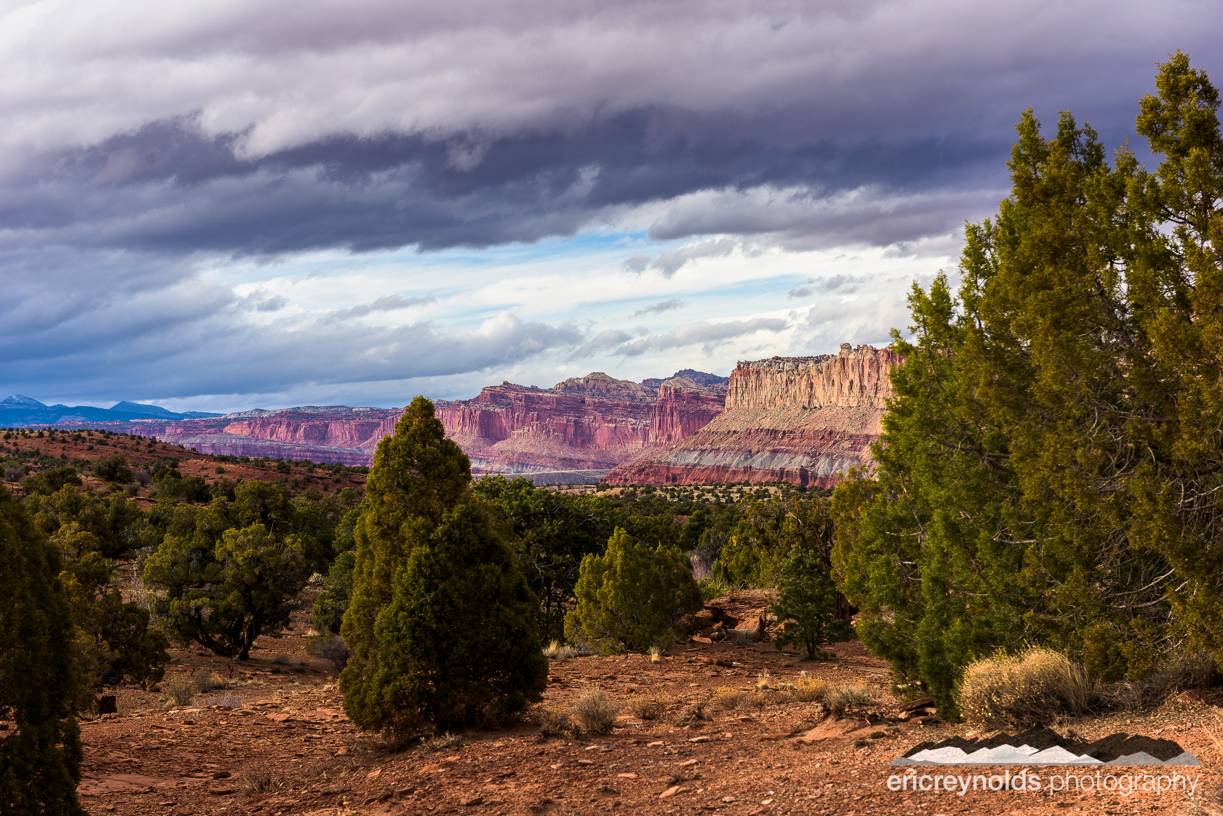 Capitol Reef Vista by Eric Reynolds - Landscape Photographer