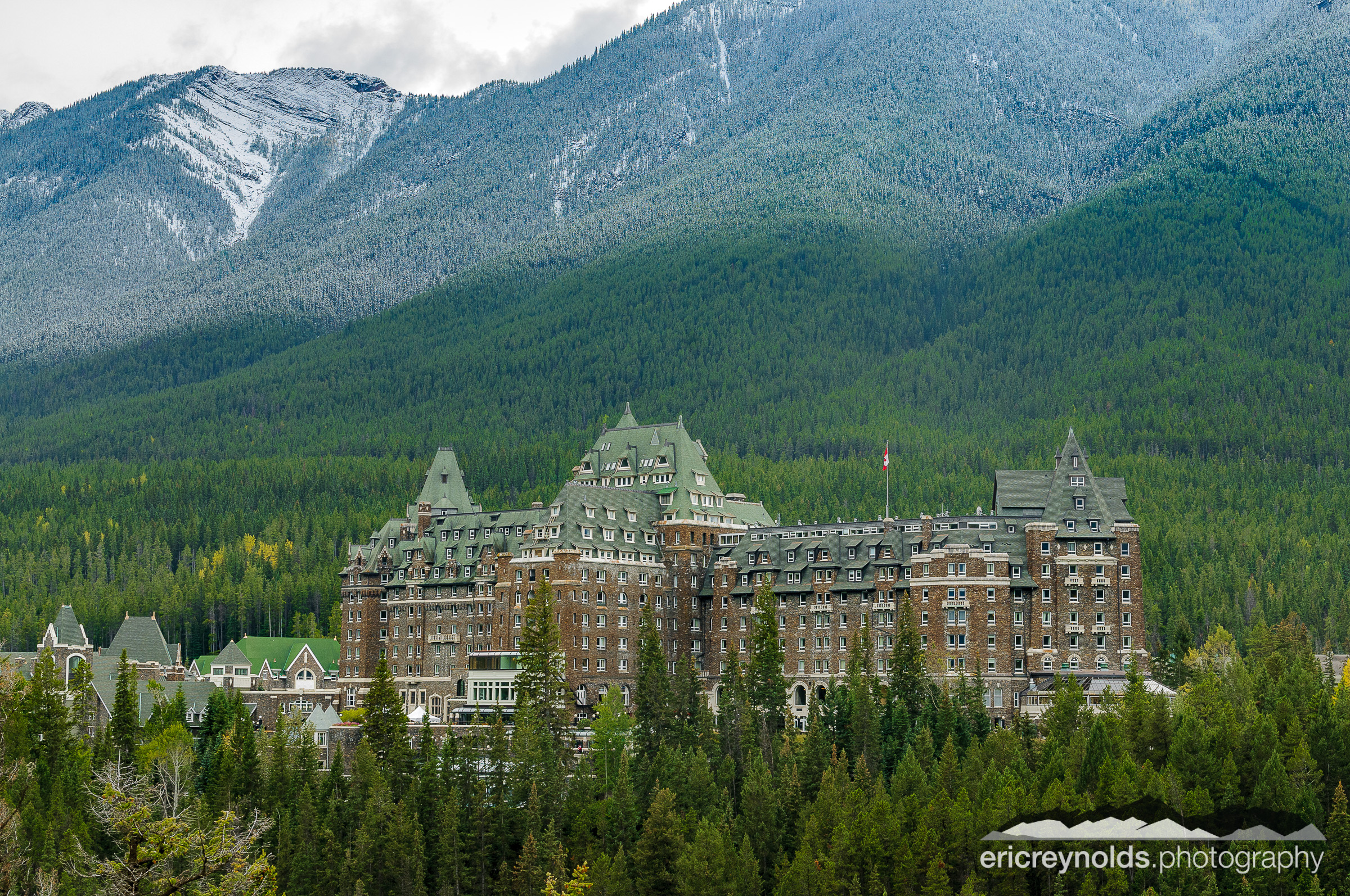 Banff Springs Hotel by Eric Reynolds - Landscape Photographer