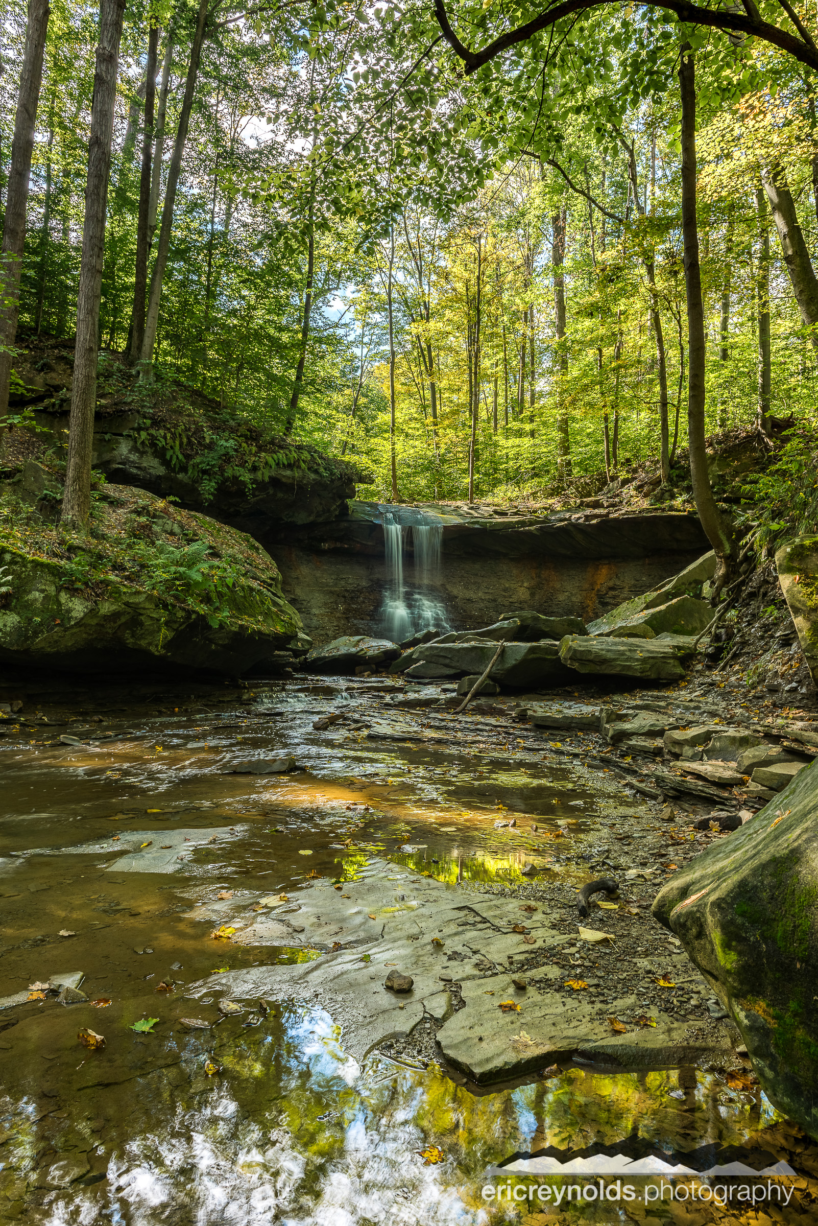 Blue Hen Falls 2 by Eric Reynolds - Landscape Photographer