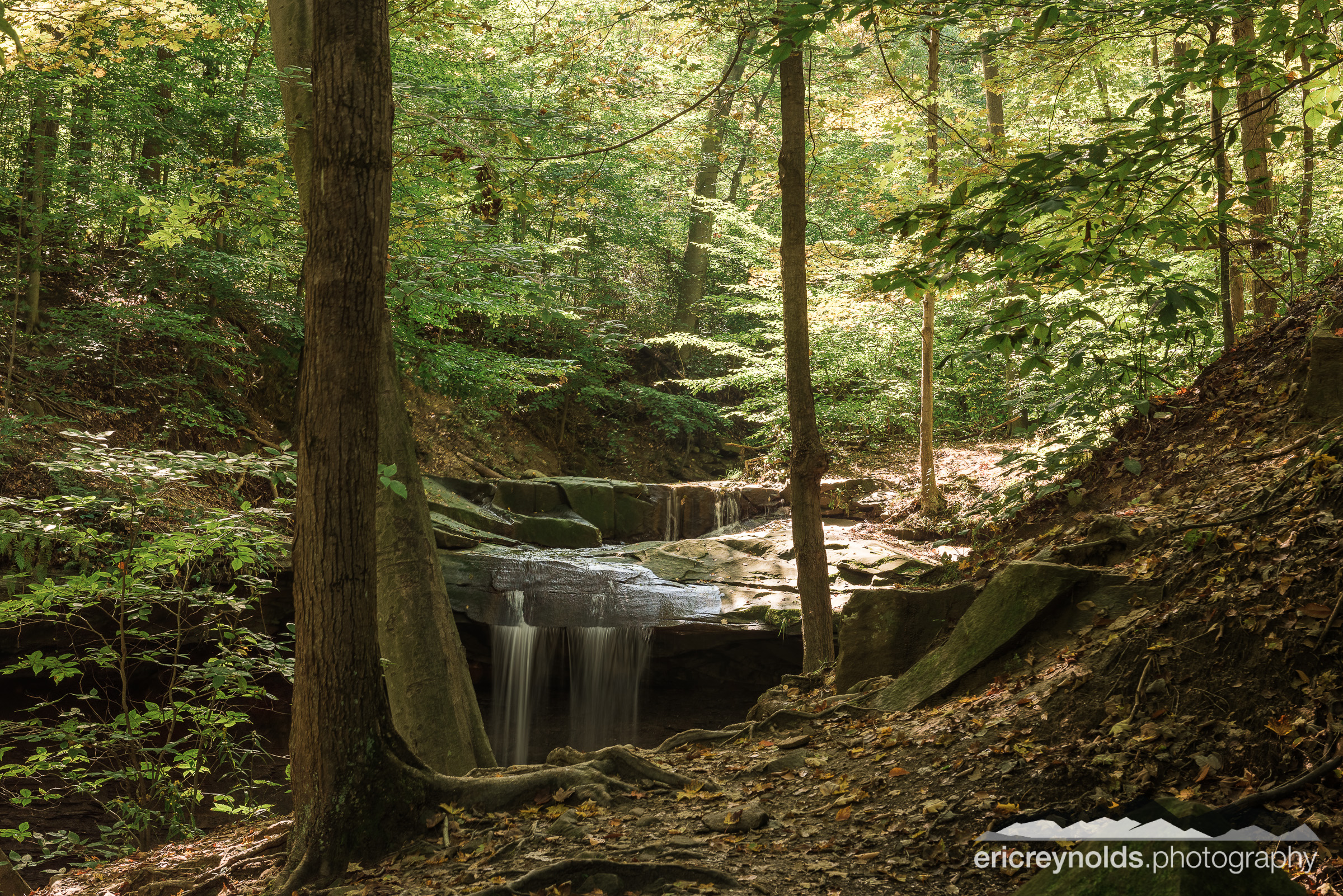 Blue Hen Falls by Eric Reynolds - Landscape Photographer