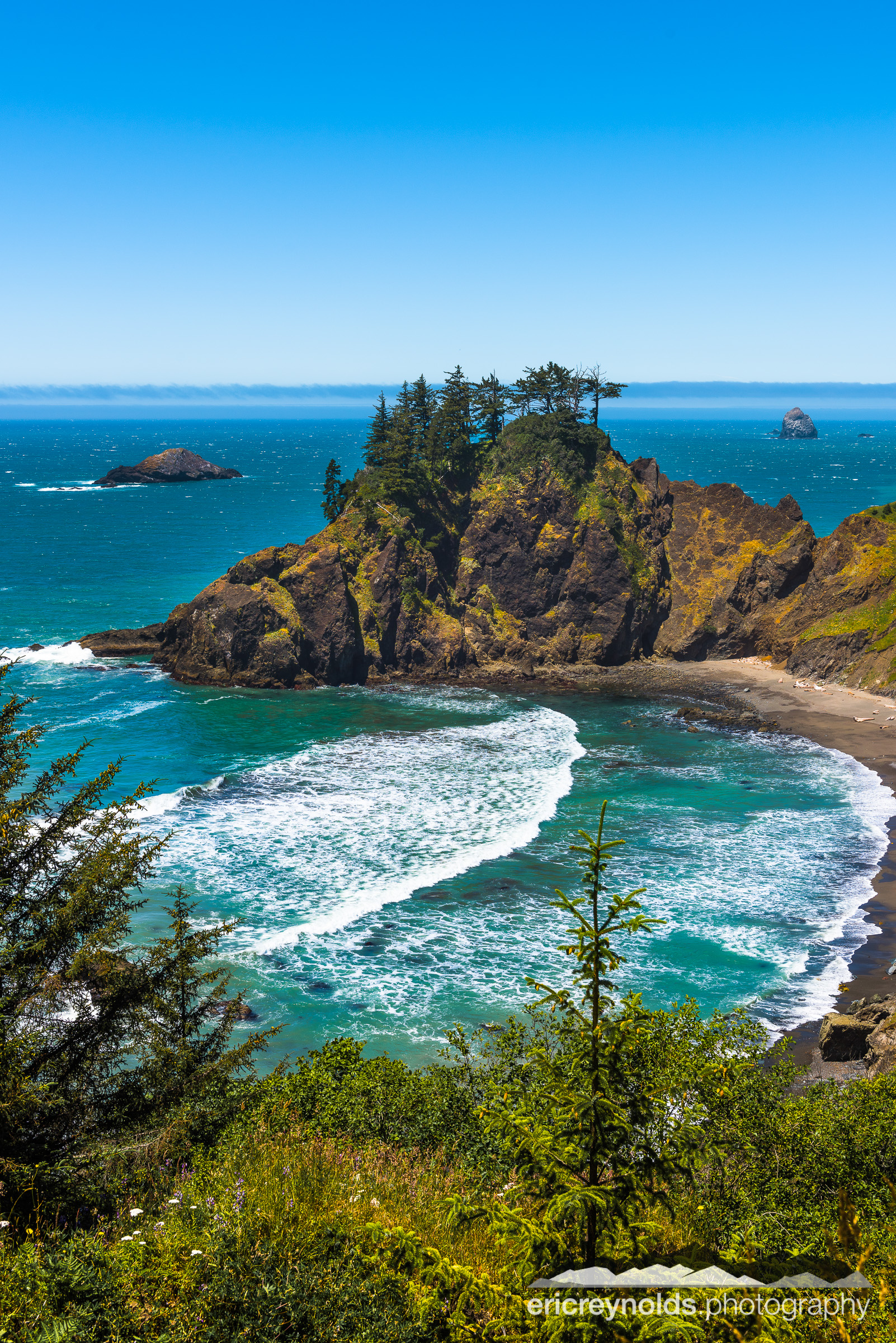 A Beach Near Arch Rock by Eric Reynolds - Landscape Photographer