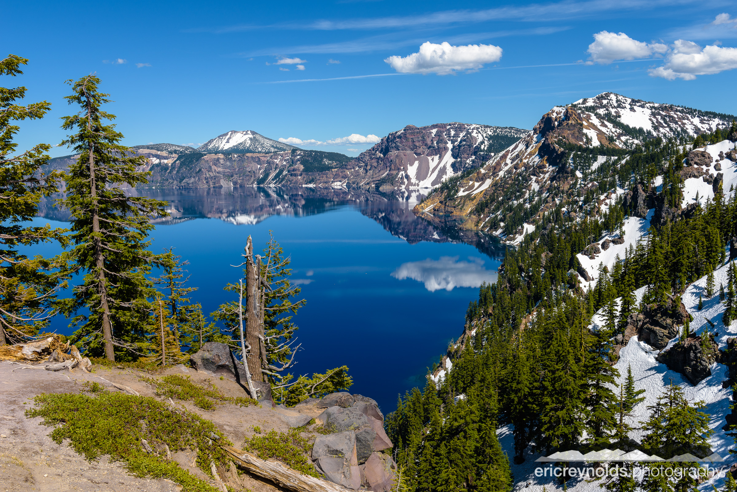 Crater Lake from Discovery Point by Eric Reynolds - Landscape Photographer