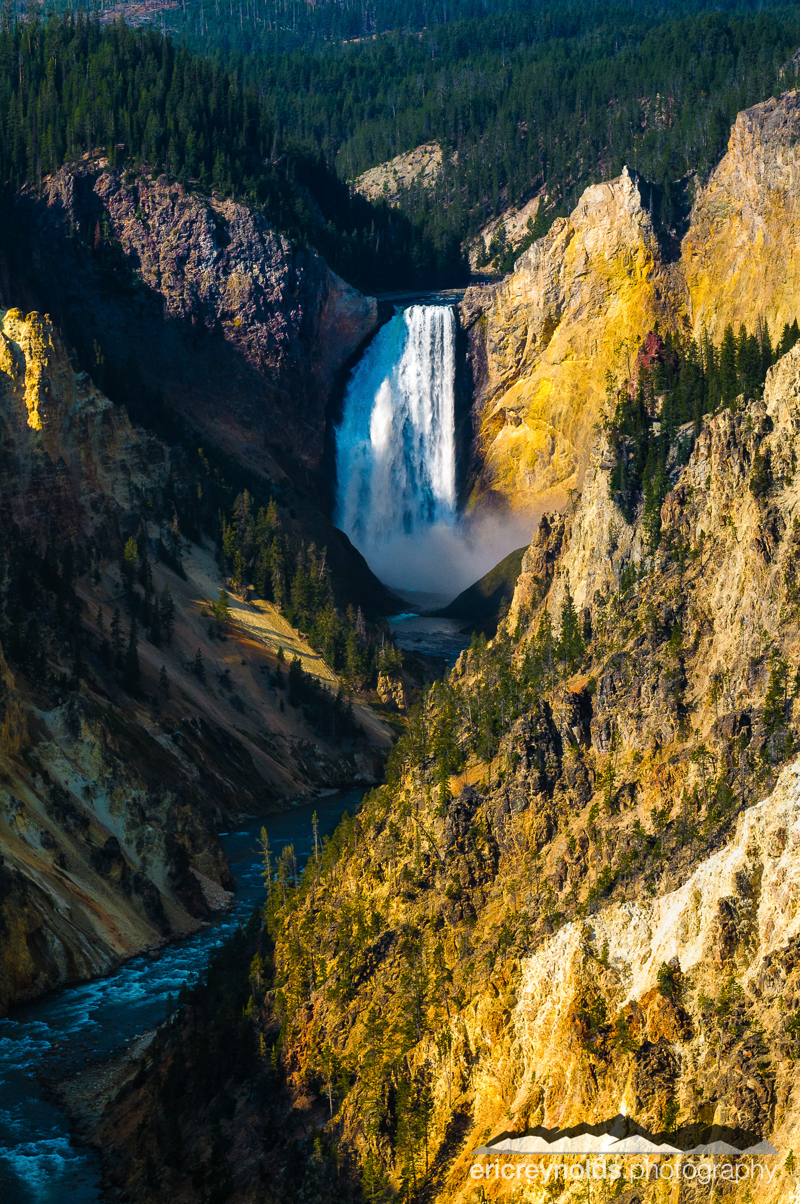 Lower Falls from Artist's Point by Eric Reynolds - Landscape Photographer