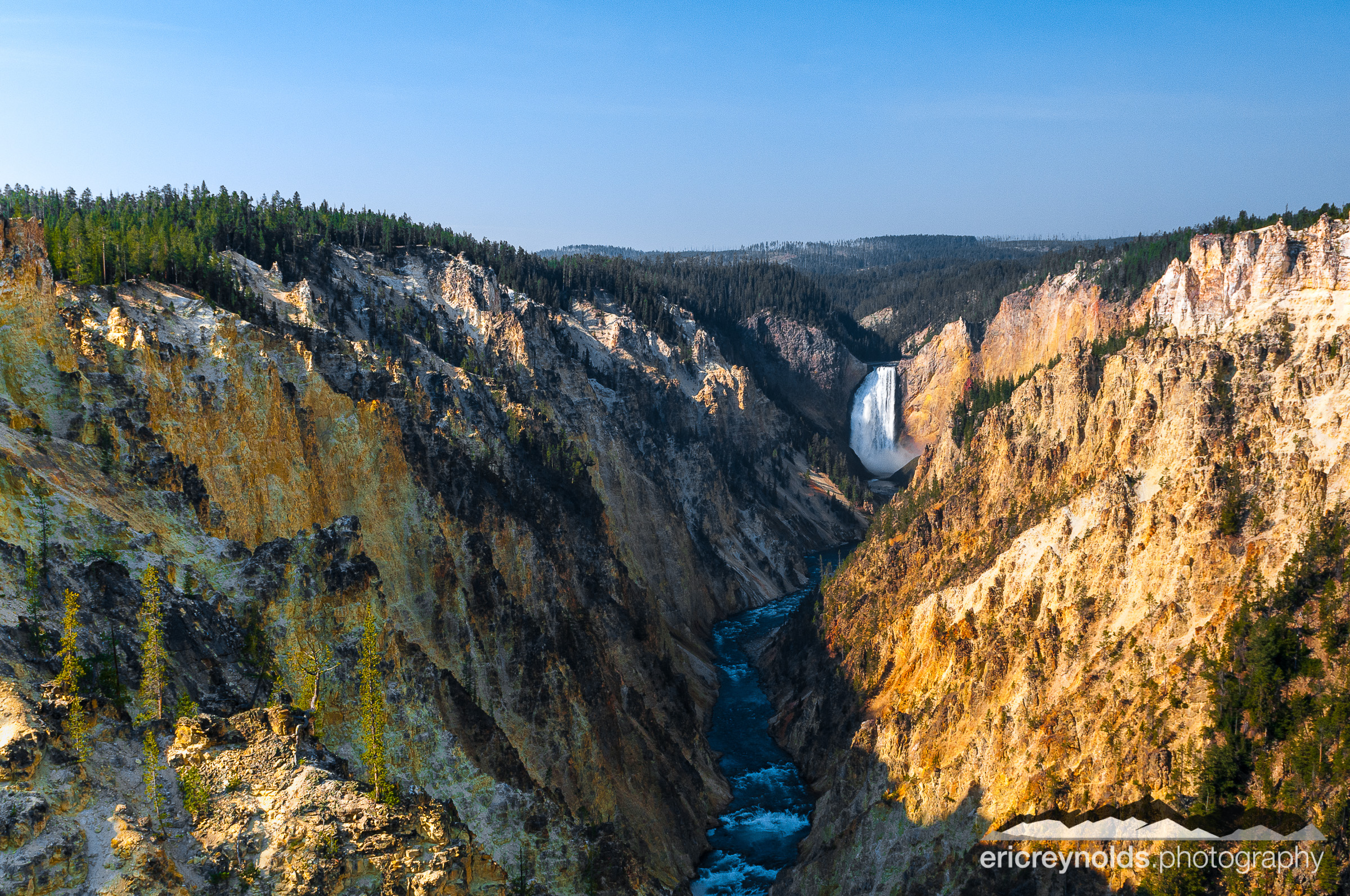 Lower Falls of the Yellowstone by Eric Reynolds - Landscape Photographer